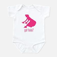 Hula Dancer 2 Infant Bodysuit