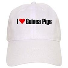 I love guinea pigs Baseball Cap