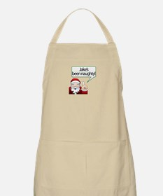 Jake 's Been Naughty BBQ Apron