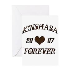Kinshasa Forever Greeting Card