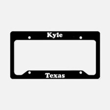 Kyle TX - LPF License Plate Holder