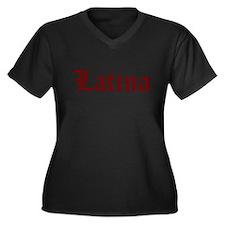 LATINA GIRL SHIRT SEXY TEE SH Women's Plus Size V-