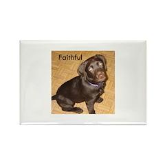 Faithful Rectangle Magnet (100 pack)