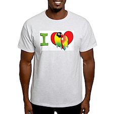 I heart lovebirds T-Shirt