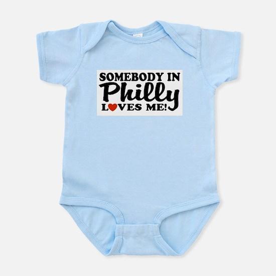 Somebody in Philly Loves Me Infant Bodysuit