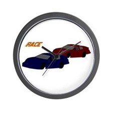 Race Wall Clock