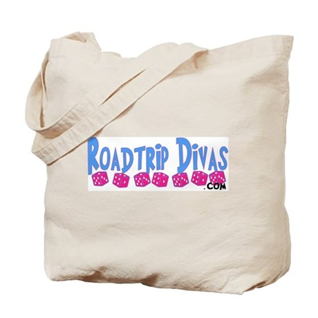 "Dice Line ""Roadtrip Divas"" Tote Bag"