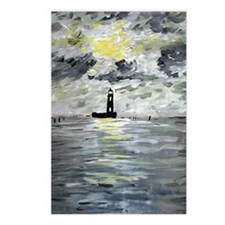 Louisiana Lighthouses Postcards (Package of 8)