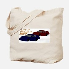 Race it Tote Bag