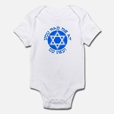 YIDDISH HUMOR T-SHIRT Infant Bodysuit