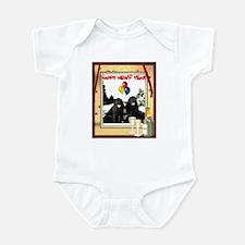 Newf Year Pilot & Sophie Infant Bodysuit