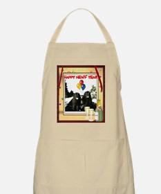 Newf Year Pilot & Sophie BBQ Apron