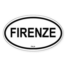 Firenze Oval Decal