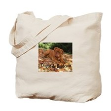 Cute Dogue de bordeaux Tote Bag