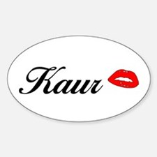 Kaur Oval Decal