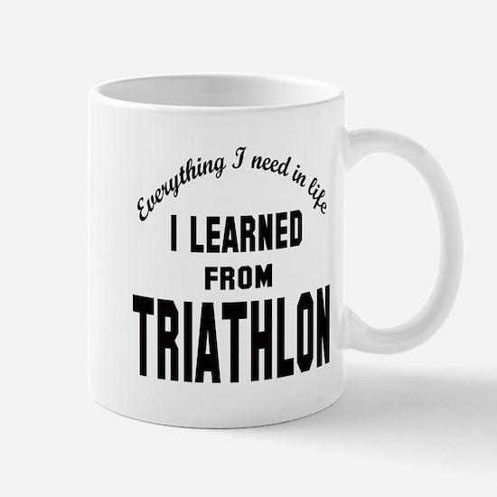 I learned from Triathlon Mug
