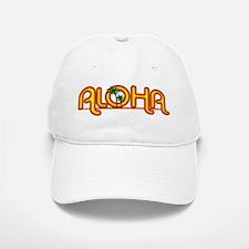 Aloha Retro Baseball Baseball Cap