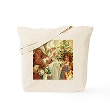 Christmas Santa Claus Gift Tote Bag