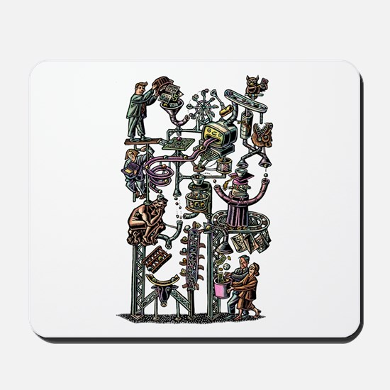Complicated Business Machine Mousepad