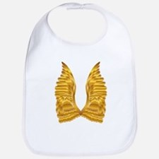 Gold Angel Wings Bib