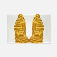 Gold Angel Wings Magnets