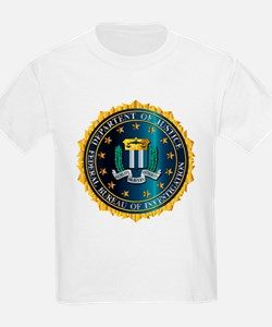 FBI Seal Mockup T-Shirt