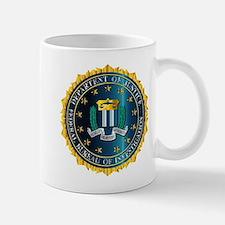 FBI Seal Mockup Mugs