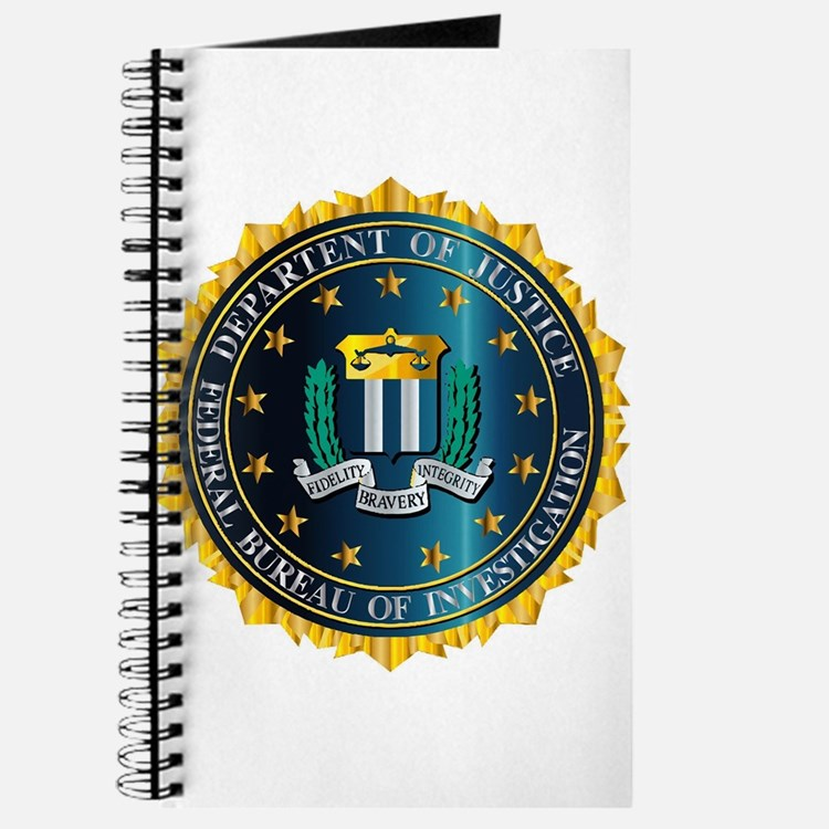 FBI Seal Mockup Journal