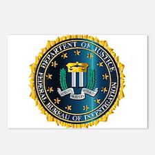 FBI Seal Mockup Postcards (Package of 8)