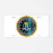 FBI Seal Mockup Aluminum License Plate