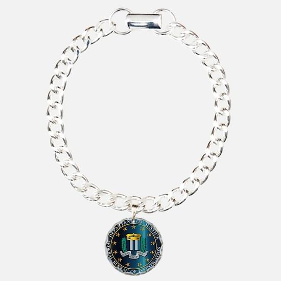 FBI Seal Mockup Bracelet