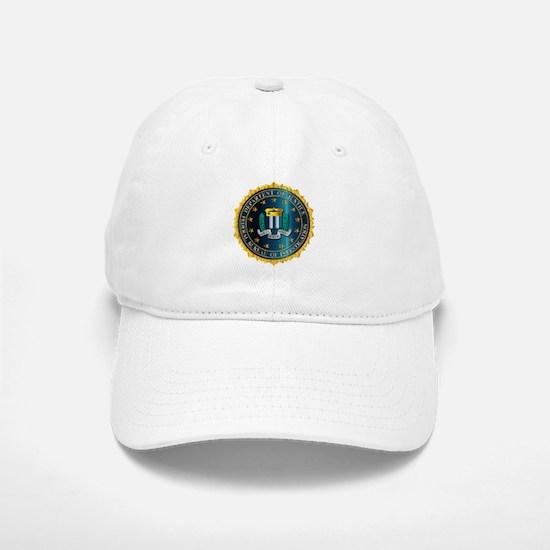 FBI Seal Mockup Baseball Baseball Cap