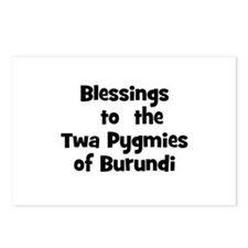Blessings  to  the  Twa Pygmi Postcards (Package o