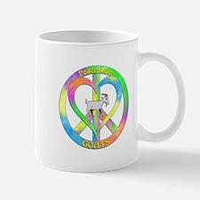 Peace Love Goats Mug