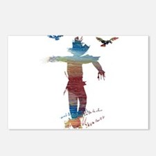 Scarecrow Postcards (Package of 8)