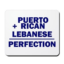 Puerto Rican + Lebanese Mousepad