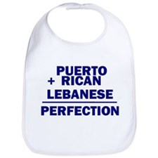 Puerto Rican + Lebanese Bib