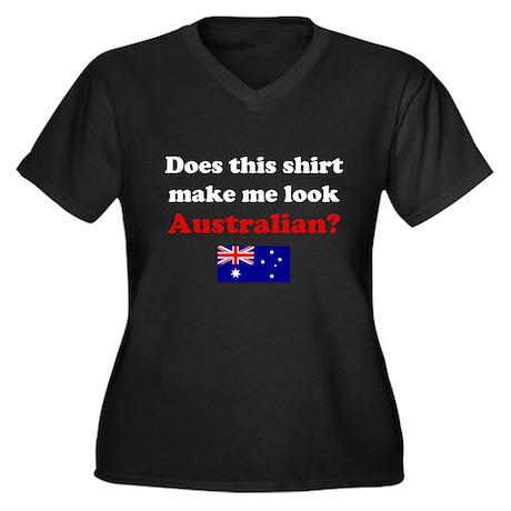 Make Me Look Australian Women's Plus Size V-Neck D