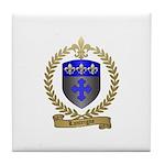 LANTEIGNE Family Crest Tile Coaster