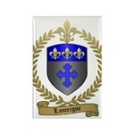 LANTEIGNE Family Crest Rectangle Magnet