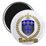 LANTEIGNE Family Crest Magnet