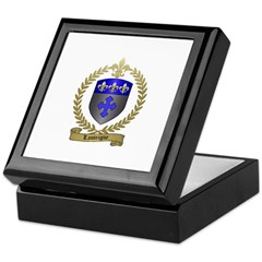 LANTEIGNE Family Crest Keepsake Box