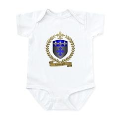 LANTEIGNE Family Crest Infant Bodysuit