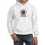 LANTEIGNE Family Crest Hooded Sweatshirt