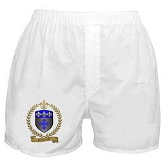 LANTEIGNE Family Crest Boxer Shorts