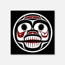 Northwest Pacific coast Haida Weeping skull Sticke
