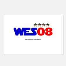 """Wes08"" Postcards (Package of 8)"
