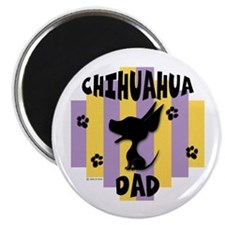 """Chihuahua Dad 2.25"""" Magnet (10 pack)"""