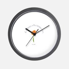 Chi Moves in Mysterious Ways  Wall Clock
