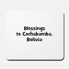 Blessings to Cochabamba, Boli Mousepad